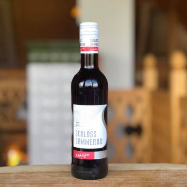 Czerwone wino bezalkoholowe Schloss Sommerau
