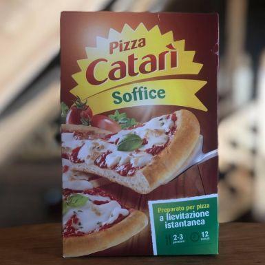 Pizza Catari miękka - gotowa mieszanka na ciasto