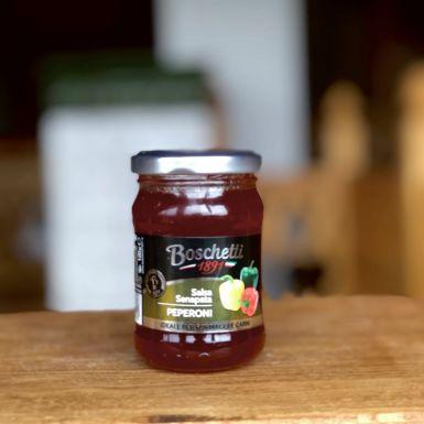 słodka salsa z pikantnej papryki Boschetti