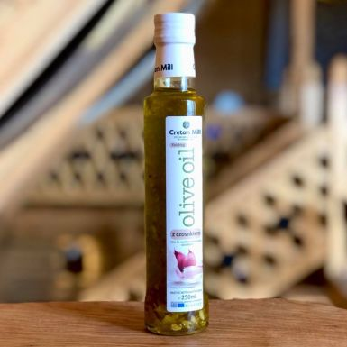 Cretan Mill - oliwa extra z czosnkiem