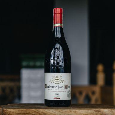 Wino czerwone Chateauneuf Du Pape, Francja