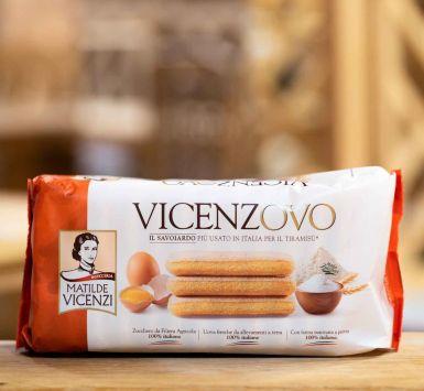 Vicenzovo - delikatne biszkopty z cukrem