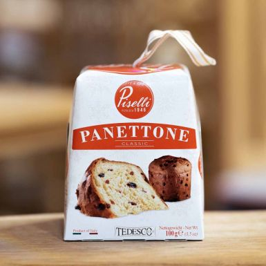 Włoska babka Panettone w wersji mini z dodatkami