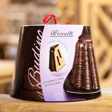 Bauli Budino - babka Panettone w czekoladzie z nadzieniem