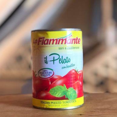 włoskie pomidory z bazylią pelati La Fiammante