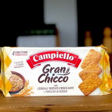 włoskie Ciasteczka owsiane pełnoziarniste