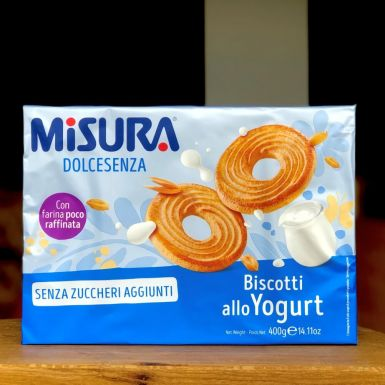 kruche ciasteczka jogurtowe bez cukru - Misura
