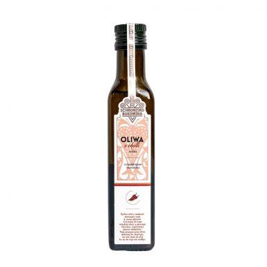 Włoska oliwa extra z dodatkiem chilli