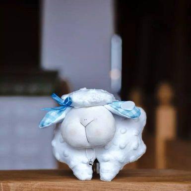 Owieczka Szarotka – mała maskotka Schroniska Bukowina