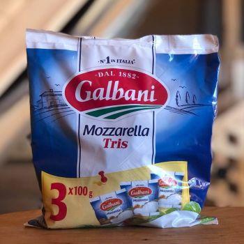 Mozzarella do pizzy włoska - trzy sztuki