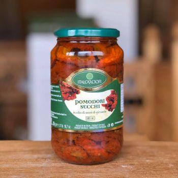 Włoskie pomidory suszone - duży słoik