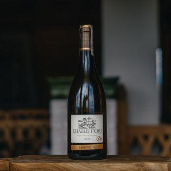 Wino białe Chabilis 1er Cru, Francja
