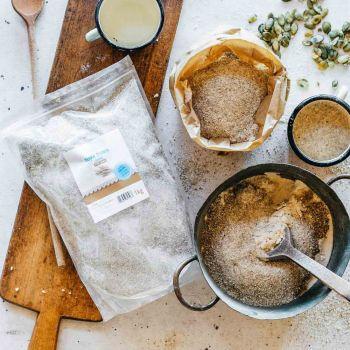 Mąka żytnia razowa - to mąka typ 2000, z bardzo grubego przemiału.