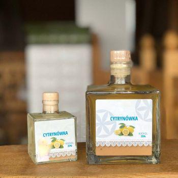 Nalewka cytrynowa 35% cytrynówka
