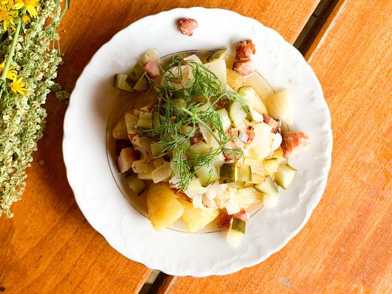 ziemniaki po góralsku - propozycja podania